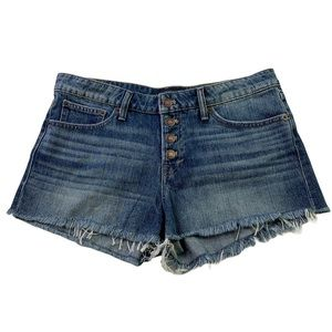 Lucky Brand The Cut Off Shorts Button Fly 8/29